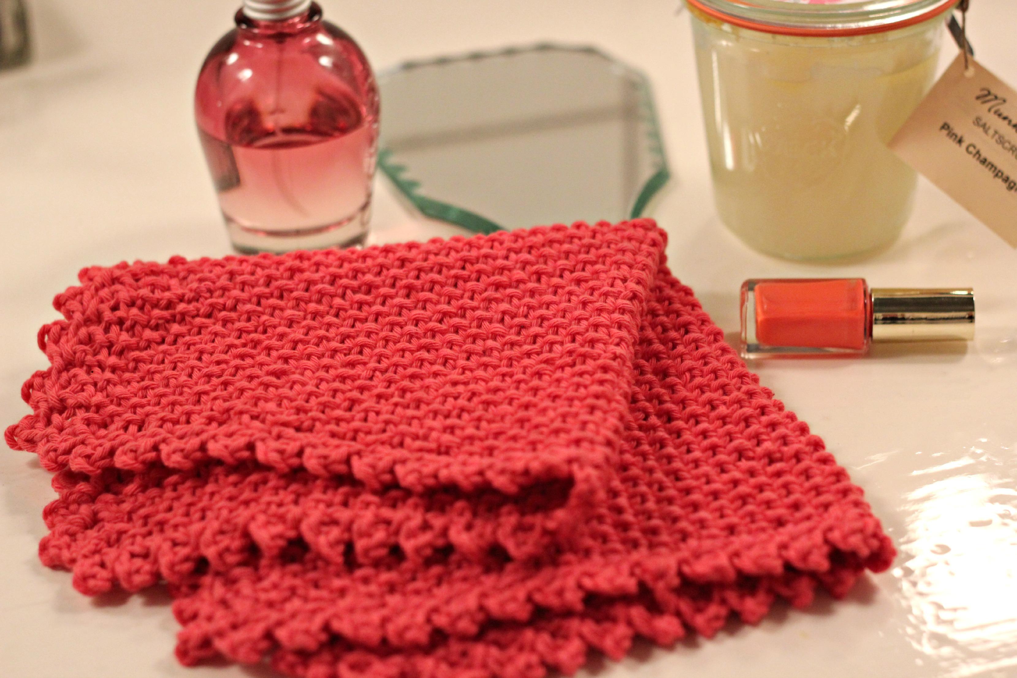 strikke karklude strikkede