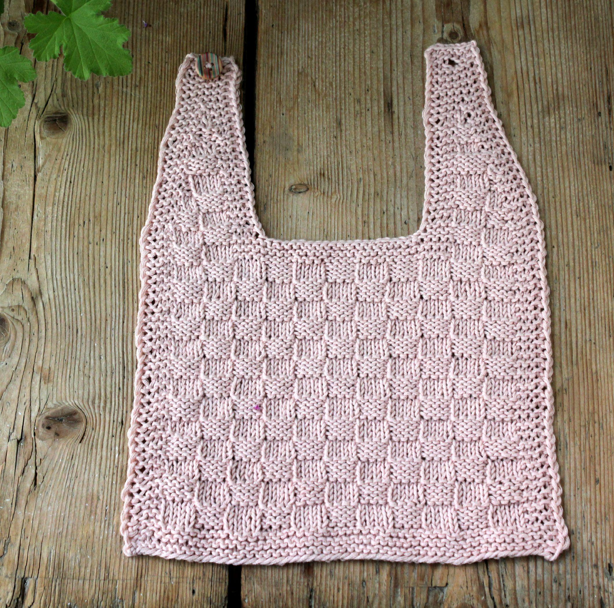 strikket savlesmæk opskrift